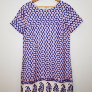 J. Crew Paisley Dress